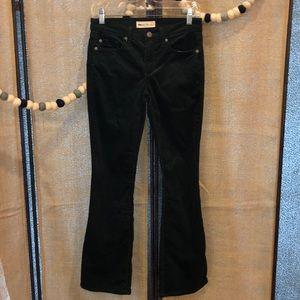Gap Baby Boot Green Corduroy Pants Size 26 Petite